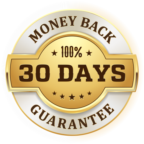 30-Day Money Back Guarantee. Click here for details.