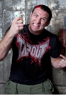 TapouT - Cage Blood Splatter Tee