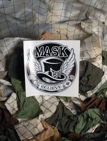Mask Tribute Sticker