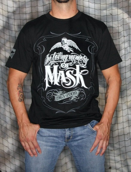 TapouT - ''Mister Cartoon Tribute'' Shirt (In Loving Memory of Mask)