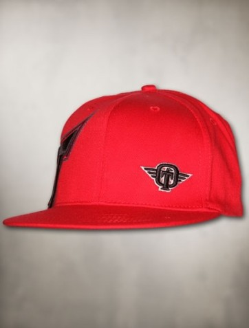 TapouT- In Ya Face 2.0 Flex Fit Hat-Red