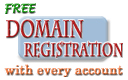 FREE Domain Registration - We register your Domain and get your site up in 24 hrs. Click here for details.