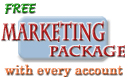 FREE Marketing Package - We get you on Google, Yahoo, and 400 other Search Engines and directories. Click here for details.