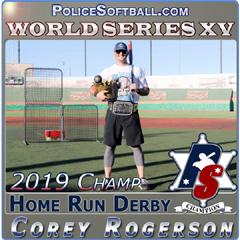 2019 World Series Home Run Derby Champ